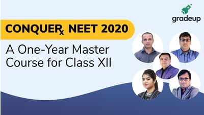 CONQUERx NEET 2020: A One-Year Master Course for Class XII