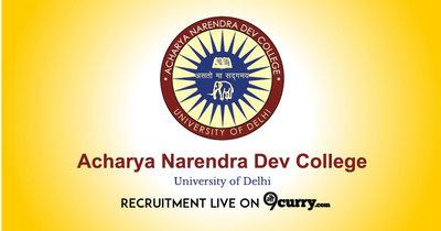 Acharya Narendra Dev College, Delhi University