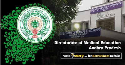 Directorate of Medical Education, Andhra Pradesh