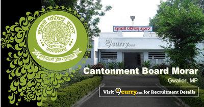 Cantonment Board Morar, Gwalior, MP