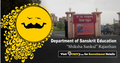 Department of Sanskrit Education, Rajasthan - Shiksha Sankul