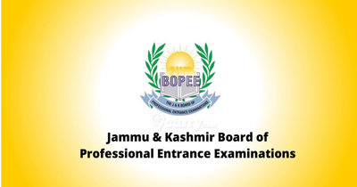 Jammu & Kashmir Board of Professional Entrance Examinations