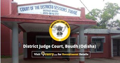 Boudh District Court, Odisha