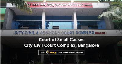 Court of Small Causes, City Civil Court Complex, Bangalore