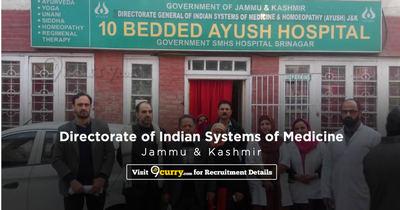 Directorate of Indian Systems of Medicine, Jammu & Kashmir