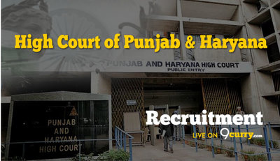 High Court of Punjab and Haryana, Chandigarh