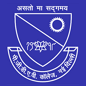 PGDAV - Pannalal Girdharlal Dayanand Anglo Vedic College, Delhi University