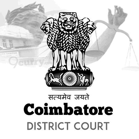 Coimbatore District Court, Tamil Nadu