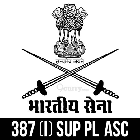387 (I) SUP PL ASC, Ministry of Defence