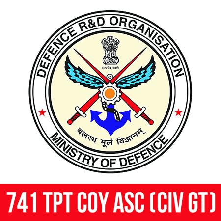 741 TPT Coy ASC (Civ GT), Ministry of Defence