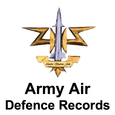 Army Air Defence Records