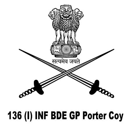 136 (I) INF BDE GP Porter Coy, Kinnaur, HP
