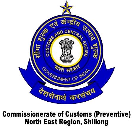 Customs Preventive NER Shillong Recruitment 2019 Apply