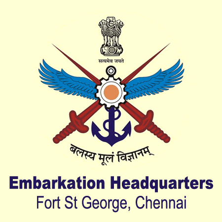 Embarkation Headquarters, Fort St George, Chennai