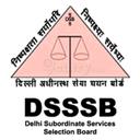 DSSSB - Delhi Subordinate Services Selection Board