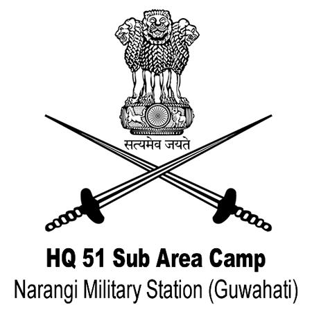 HQ 51 Sub Area Camp (Indian Army), Narangi Military Station (Guwahati)
