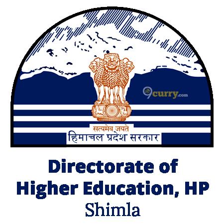Directorate of Higher Education, Himachal Pradesh - Shimla