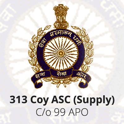 313 Coy ASC (Supply) Type 'F'