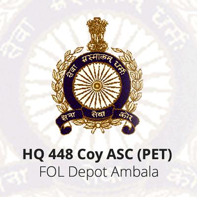 HQ 448 Coy ASC (PET)  - FOL Depot Ambala