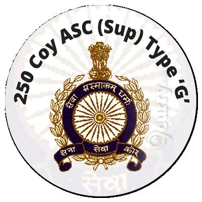 250 Coy ASC (Sup) Type 'G'