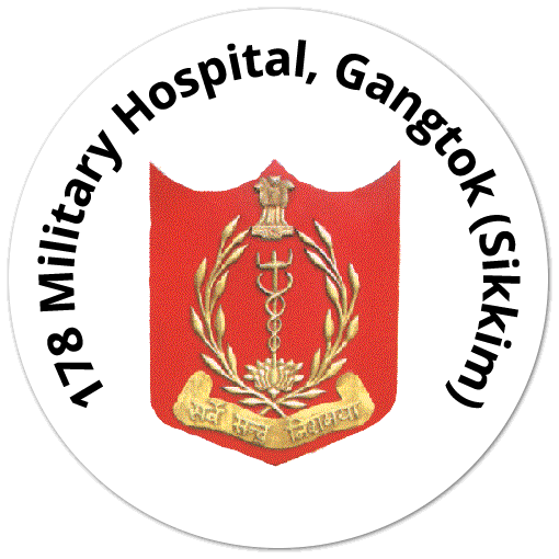 178 Military Hospital, C/O 99 APO, Gangtok (Sikkim)