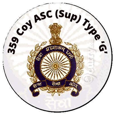 359 Coy ASC (Sup) Type 'G'