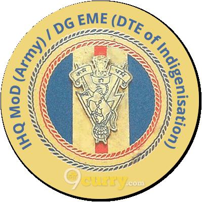 IHQ MoD (Army) / DG EME (DTE of Indigenisation)
