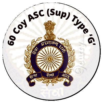 60 Coy ASC (Sup) Type `G'