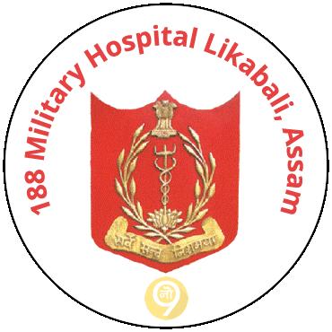 Image result for 188 Military Hospital, Likabali, Assam logo