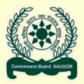 Saugor Cantonment Board, MP