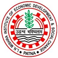 L N Mishra Institute of Economic Development & Social Changes