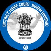 Thumbnail district judge court boudh logo