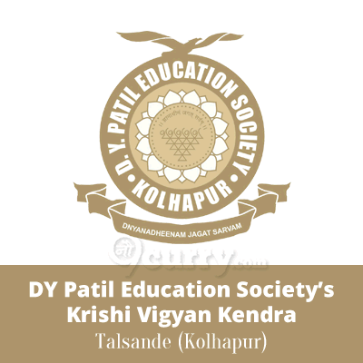 DY Patil Education Society's Krishi Vigyan Kendra, Kolhapur (at Post Talsande)