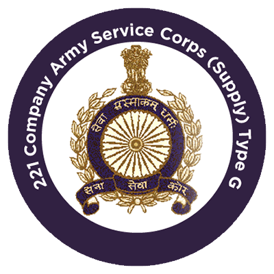 221 Company Army Service Corps (Supply) Type G
