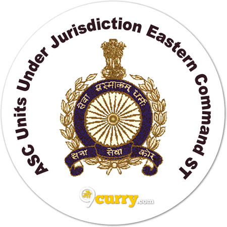 ASC Units Under Jurisdiction Eastern Command ST