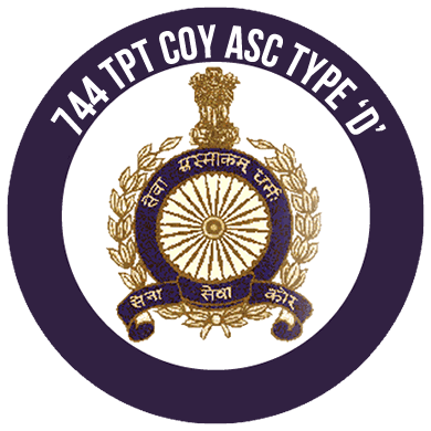 744 TPT Company Army Service Corps, Type 'D'