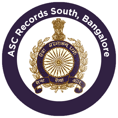 Indian Army Service Corps Records South, Bangalore