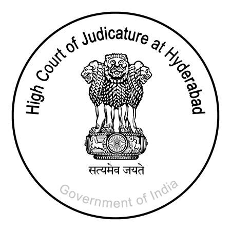 Image result for Telangana and Andhra Pradesh States Judiciary High Court logo