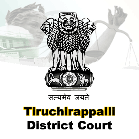 Tiruchirappalli District Court, Tamil Nadu